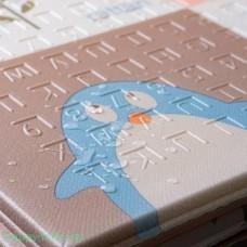 """Складной коврик - книжка Softplay XT """"Животные""""(М)"""