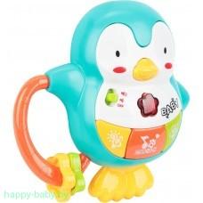 """музыкальная игрушка - погремушка """" Пингвин"""""""