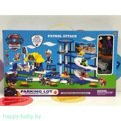 Набор игрушка Щенячий патруль Paw Patrol Парковка - гараж