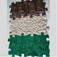 Массажный коврик Набор 4 Лесной