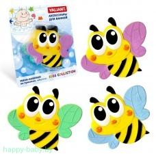 """Мини-коврик для ванной на присосках """"Пчелка"""""""