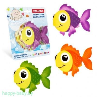 """Мини-коврик для ванной на присосках """"Рыбка моя"""""""
