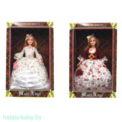 Кукла в бальном платье, 2 вида, арт. 0622/1-2