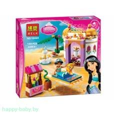 Конструктор Bela Disney Princess Экзотический дворец Жасмин, 145 деталей, арт. 10434