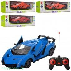 Машина на РУ Model Car, работает от батареек, открывается дверь с пульта, арт. 163-E8024