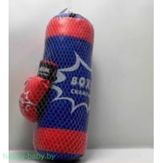 """Набор для бокса """"Boxing Championship"""", груша и перчатки, арт. 189A-12"""