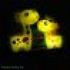 "Интерактивный плакат ""Говорящий букваренок"", цвет желтый"