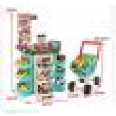"""Игровой набор """"Супермаркет"""" с тележкой, 47 предметов, свет/звук, арт. 668-76"""