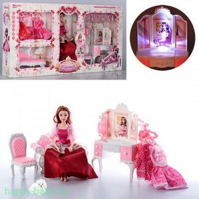 Кукла с питомцем и набором мебели, арт. 6954-A