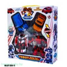 Робот - тобот, робот трансформер 4 штуки,  арт. 83687
