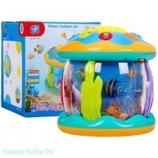 """Музыкальная игрушка """"Мини океанариум"""", с проектором, арт. 855-16A"""