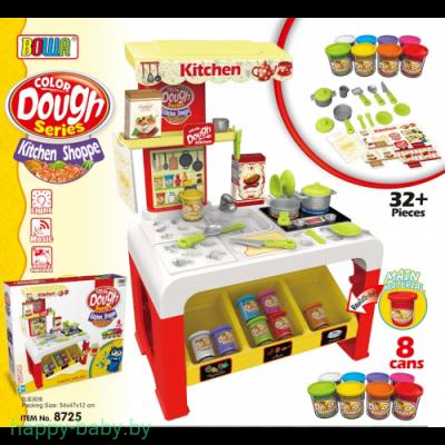 Игровой набор Bowa Кухня с тестом для лепки, арт. 8725