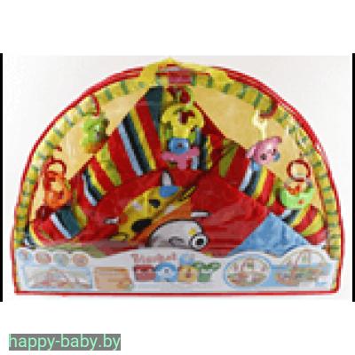 Развивающий коврик с пластиковыми игрушками, арт. 8801-2