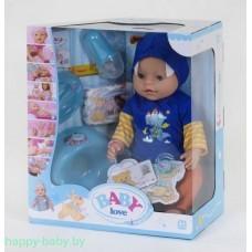 Интерактивная кукла-пупс Baby Love с аксессуарами, 8 функций, арт. BL034A