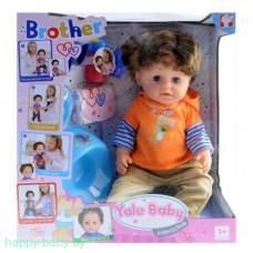 Интерактивная кукла-пупс Brother, пьет/писает, арт. BLB001A
