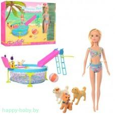 """Кукла """"Кайлили с бассейном"""", арт. BLD112"""