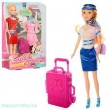 """Кукла """"Кайлили стюардесса"""", арт. BLD127"""