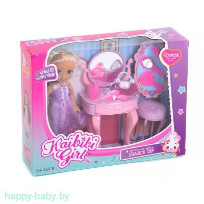 """Кукла """"Кайлили с туалетным столиком"""", арт. BLD231"""