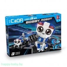 """Конструктор """"Робот-грузовик"""", 195 деталей, инерционный механизм, арт. C52018W"""