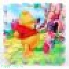 """Коврик-пазл """"Геометрические фигуры"""", 36 элементов 14 х 14 см, арт. F23269"""