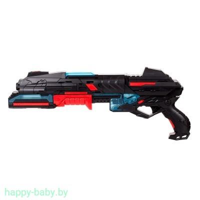 """Игрушечное оружие """"Бластер 10-зарядный"""" (со светом), арт. FJ831"""