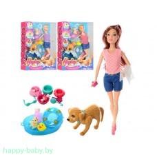 "Кукла ""Hayley"" с собачкой, арт. HB029"