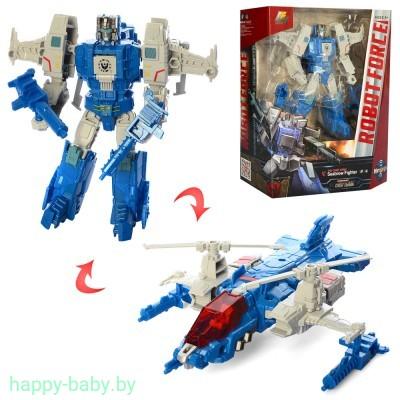Робот-трансформер Robotron, робот-самолет, робот-вертолет, арт. J8058D