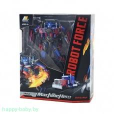 """Робот-трансформер """"Оптимус прайм"""" Robot Force, грузовик, робот, 2 в 1, 17 см , арт.J8089"""