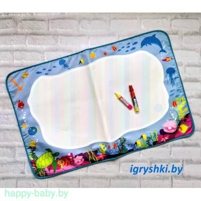 Коврик для рисования с аква фломастерами , арт. LT3934-1