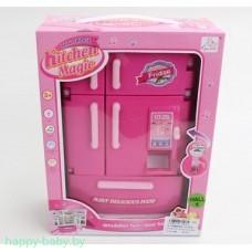 """Игровой набор """"Холодильник"""" 24 см с аксессуарами, свет, арт. SY-2079-1"""