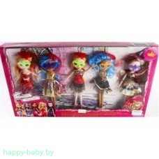Набор из 5 кукол Ever After High, арт. TH-1124