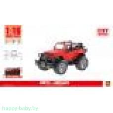 Инерционный джип, красный, свет/звук, арт. WY390A