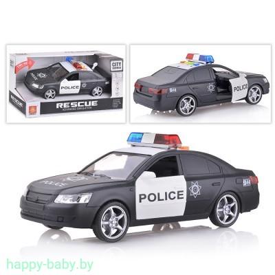Полицейская машина инерционная, свет/звук, арт. WY560B