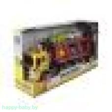 Машинка-трейлер инерционная, свет/звук, арт. WY570B