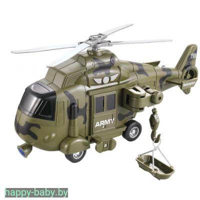 """Инерционный вертолет """"Wenyi"""", свет/звук, арт. WY751A"""