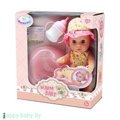 Кукла пупс Warm Baby, 25 см, пьет/писает, арт. WZJ032A-3
