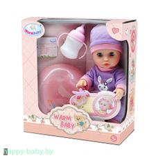 Кукла пупс Warm Baby, 25 см, пьет/писает, арт. WZJ032A-4