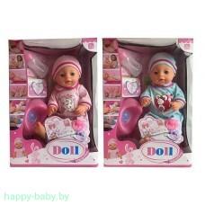 Интерактивный пупс Baby Doll (пьет, писает), 35 см, арт. YL1710N