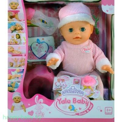 Функциональный пупс Yale baby с аксессуарами , арт. YL1712M