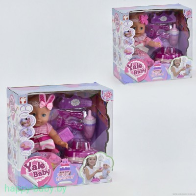 "Кукла ""Yale Baby. Happy Birthday"" с аксессуарами, арт. YL1822L"