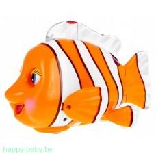 "Интерактивная игрушка ""Рыба-клоун"", свет/звук, арт. ZR143-1"