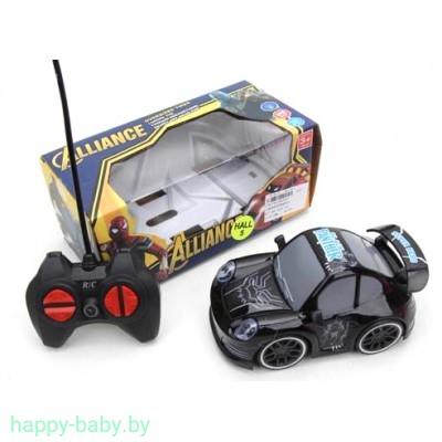 Машинка супергероя на радиоуправлении, свет фар, 6 видов, арт. ZR2063